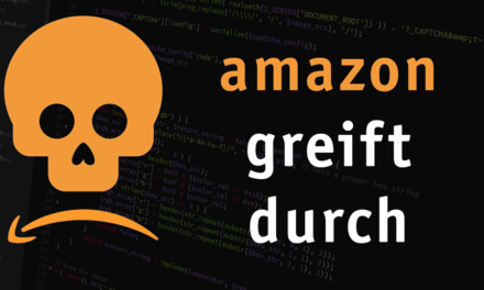 Amazon sperrt Account wegen Super URLs
