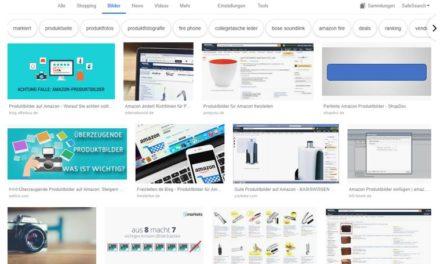 Schutz von Produktbildern auf Amazon
