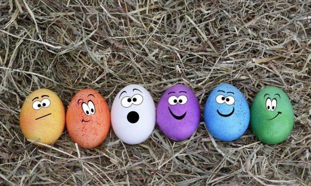 Damit ihr euch das nächste mal besser auf Ostern vorbereiten könnt.