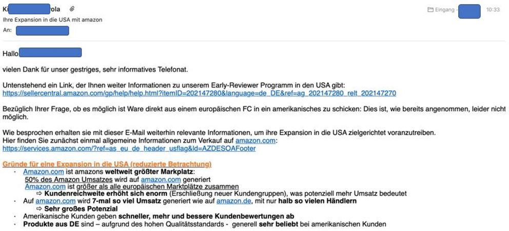 Amazon nennt den deutschen Marktplatz Umsatz – GMV – irrtümlich