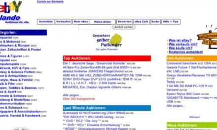 eBay.de wird 20! Ein Interview und eine Abrechnung