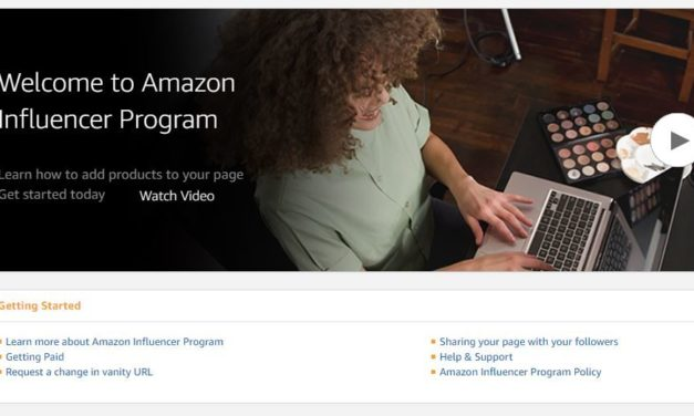 Amazon startet das Influencer Programm in DE, FR, IT & ES