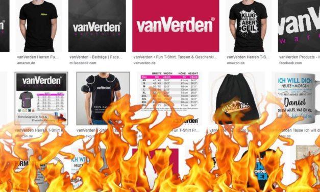 vanVerden ist abgebrannt: Was bedeutet das nun für einen Unternehmer?