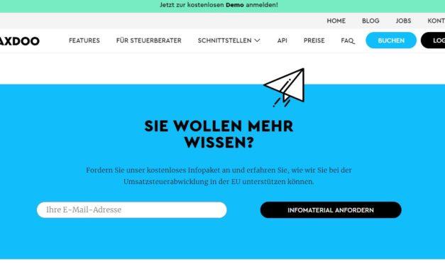 Taxdoo – Umsatzsteuer automatisiert und in einfach [Werbung]