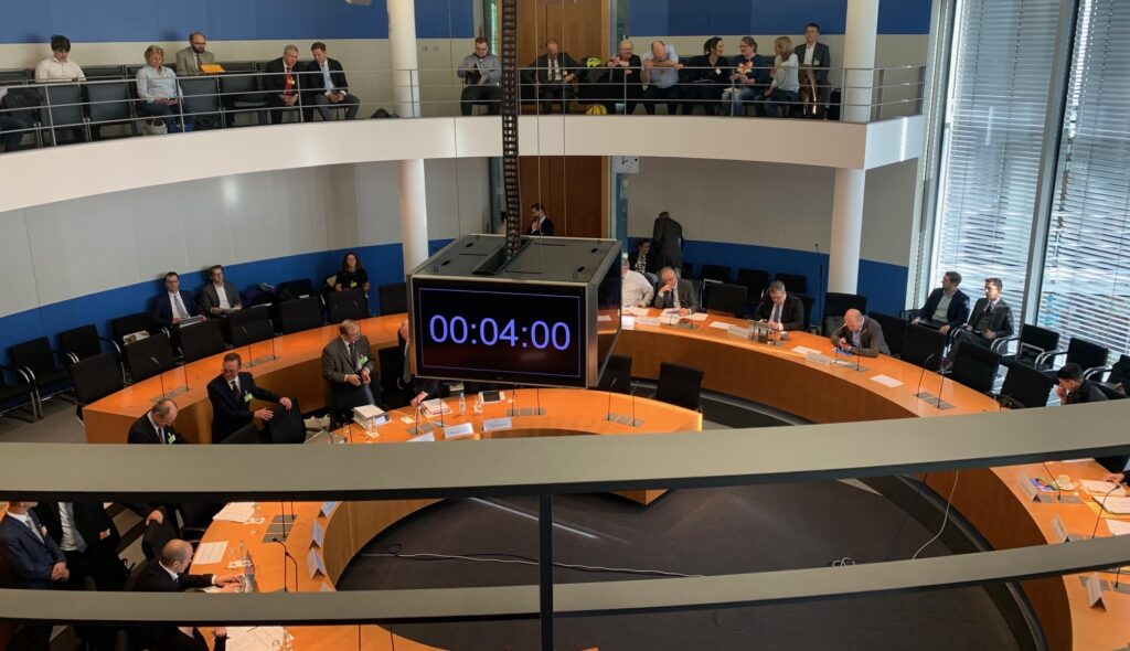 Anti-Abmahngesetz: Experten-Anhörung im Bundestag