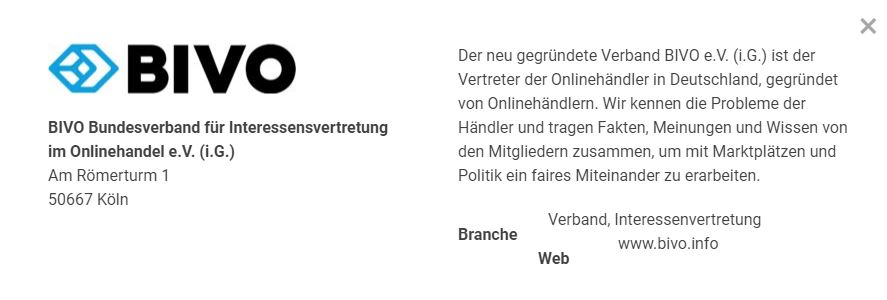 Michael Atug scheitert mit der Gründung des Onlinehändler Verband BIVO e.V. (i.G.)