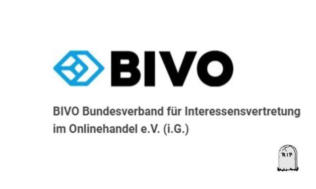 Der BIVO Bundesverband für Interessensvertretung im Onlinehandel e. V. (i. G.) ist gefloppt