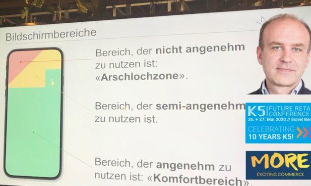 Interview mit Jochen Krisch zur mobilen Zukunft des Handels, seinen Meetups & der K5
