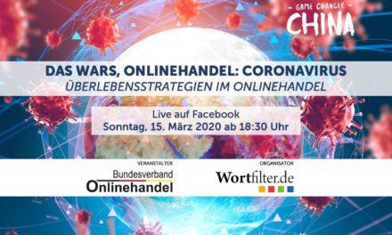 #covid19 – BVOH e. V. & Wortfilter Livestreaming