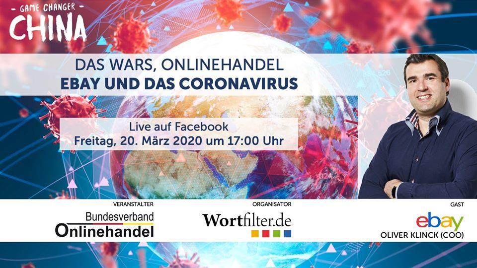 LIVESTREAM: Das war's, Onlinehandel – Mit eBay COO Oliver Klinck