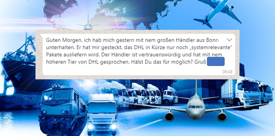 Krise: Was wäre, wenn … mit DHL, Hermes & Co.