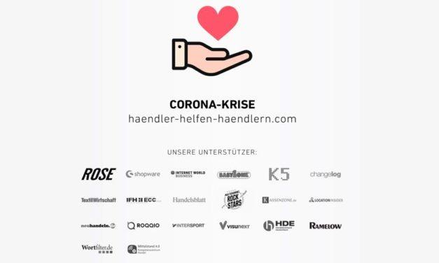 Initiative: ›Händler helfen Händlern‹ von ROSE & Marcus Diekmann