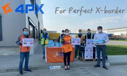 Alibabas Logistikbeteiligung 4PX spendet 50.000 Schutzmasken für Deutschland