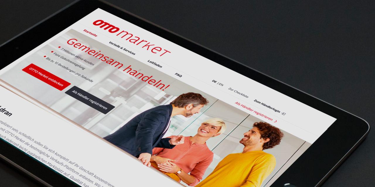 Marktplatzanbindung: OTTO.de jetzt in schnell