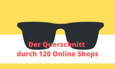 Der Querschnitt durch 120 Online-Shops