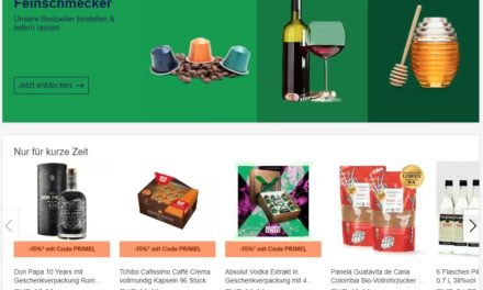 Lebensmittel online: eBay der Underdog