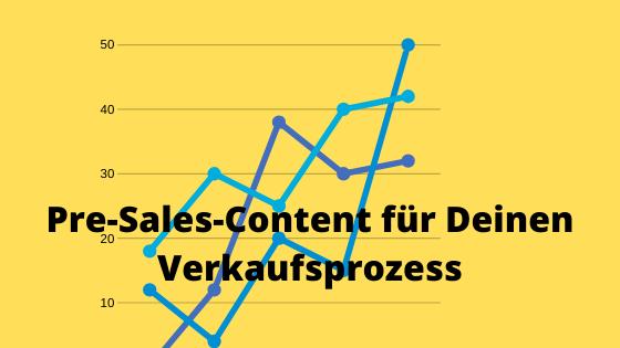 Pre-Sales-Content für Deinen Verkaufsprozess