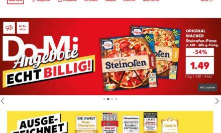 Hmm: Kaufland greift sich real.de