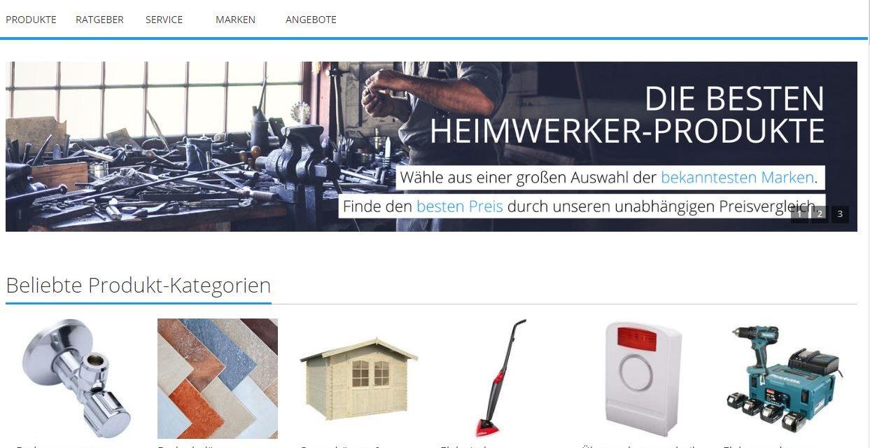 Domain baumarkt.de steht zum Verkauf