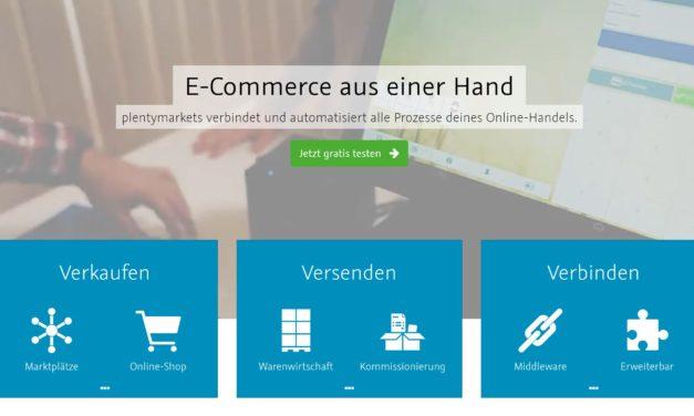plentymarkets – Der Prozessautomatisierer und -verbinder im Onlinehandel [Werbung]