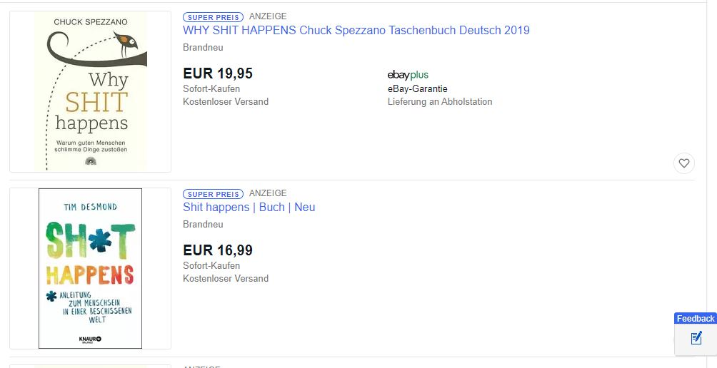 eBay: Abmahnungen wegen neuem Batch ›Super Preis‹