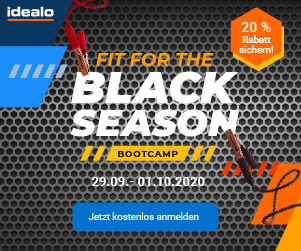 Tag 1: idealo Black Season Bootcamp: Fit werden für Black Friday & Co.! [Werbung]