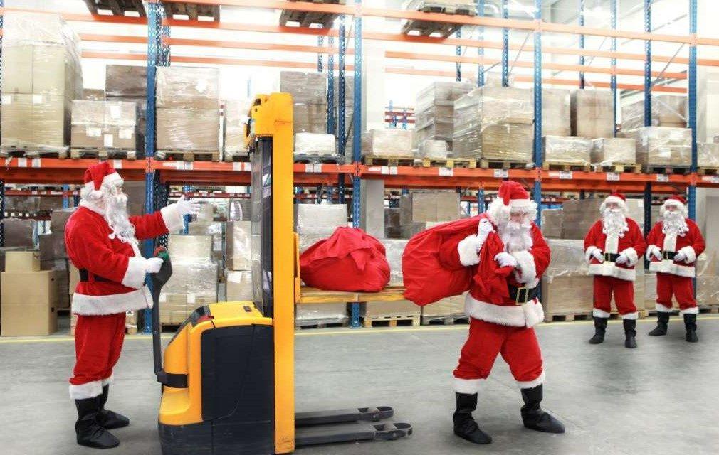 Paketlogistik erwartet Wachstum im Weihnachtsgeschäft