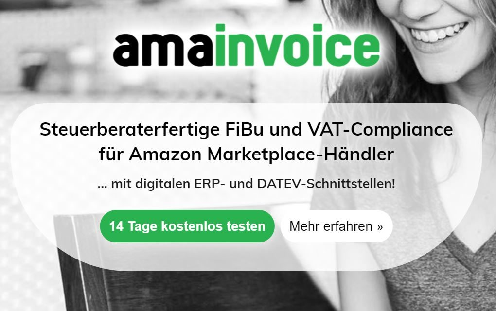 Amainvoice – Die steuerberaterfertige Finanzbuchhaltung für Amazon Seller [Werbung]