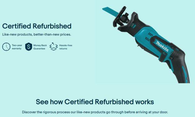 Kommt eBays ›Certified Refurbished‹ bald nach Deutschland?