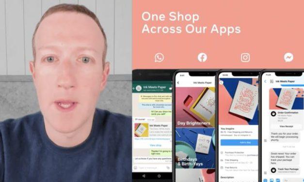 Facebook Shop nun im UK und Kanada verfügbar