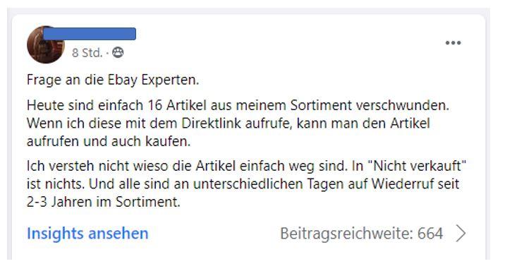 Weltweite Störung bei eBay