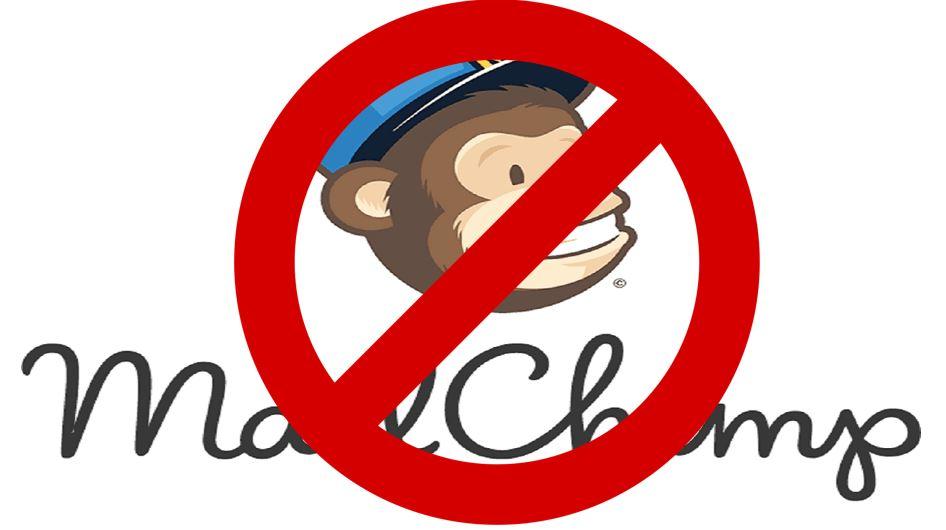 Mailchimp-Nutzer aufgepasst: Nutzung des Newsletter-Tools verboten