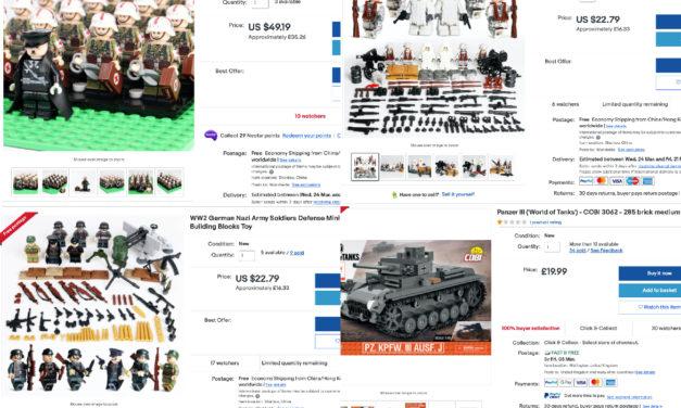eBay entfernt Nazi-Kinderspielzeuge von seinem Marktplatz