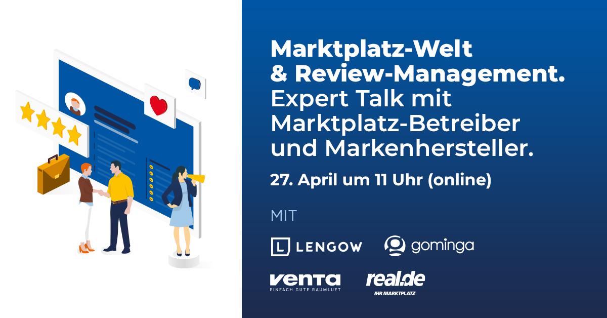 Marktplatz-Strategien? Expert-Talk mit Marktplatz-Betreiber und Markenhersteller