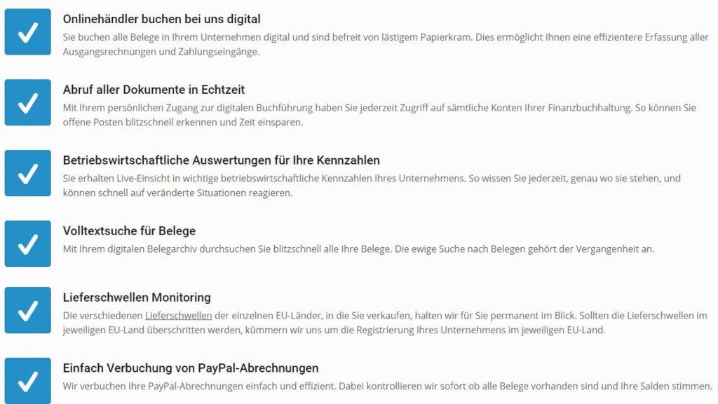 Leistungen Wendl & Köhler, Köln Steuerberatung