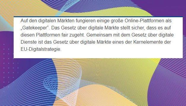 Digital Markets Act (DMA): EU-Behörden arbeiten zusammen