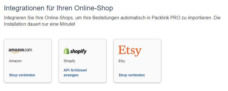 eBay Sofortversand Integration