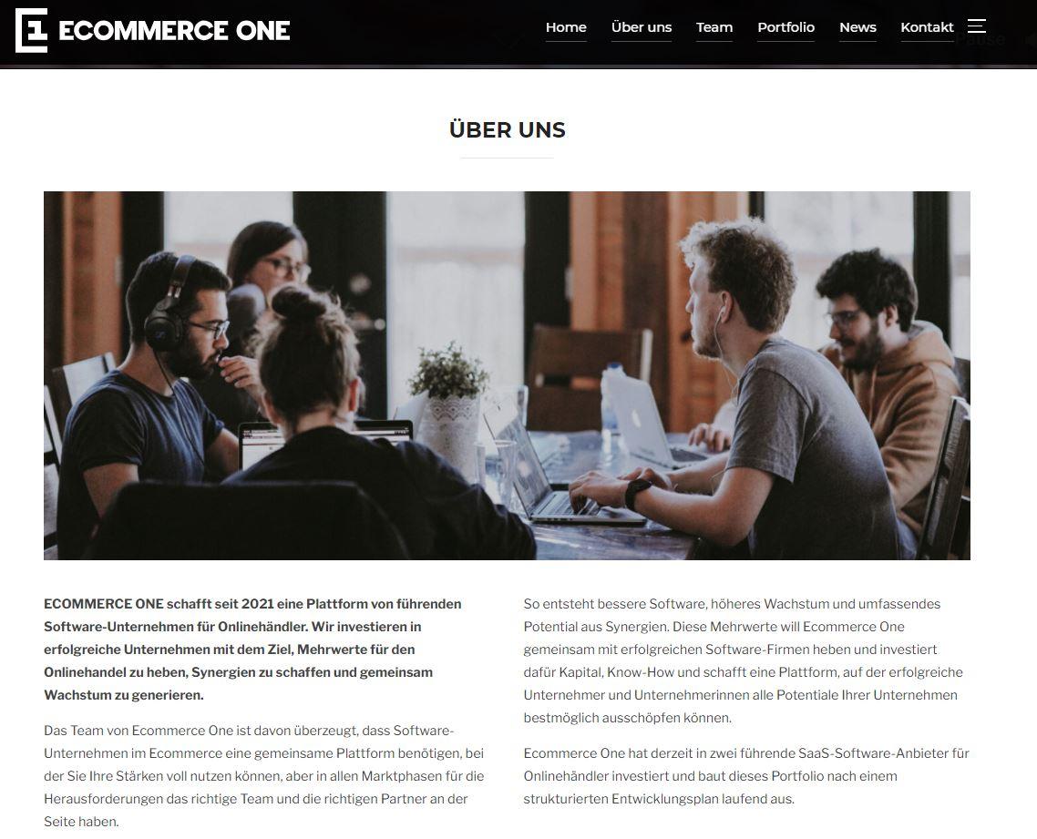ECOMMERCE ONE schafft seit 2021 eine Plattform von führenden Software-Unternehmen für Onlinehändler.