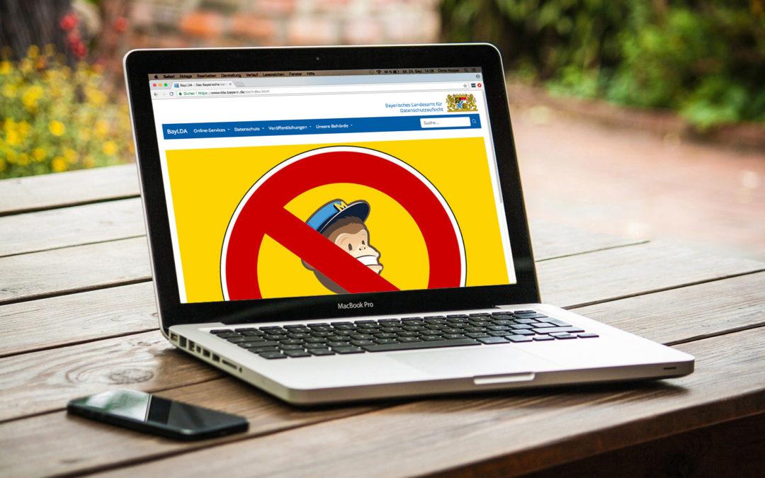 Bayerische Datenschutzbehörde untersagt Mailchimp-Nutzung