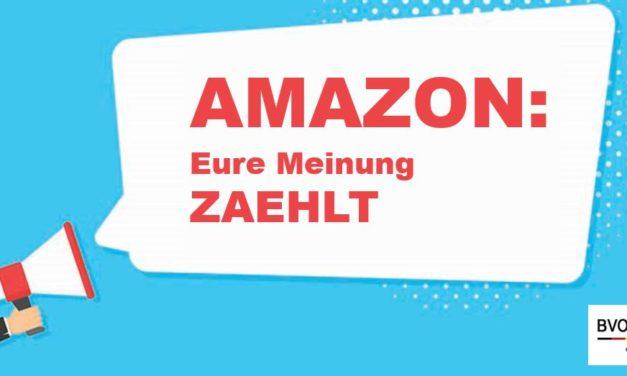 BVOH – Amazon-Umfrage: Ohne Daten geht nichts!
