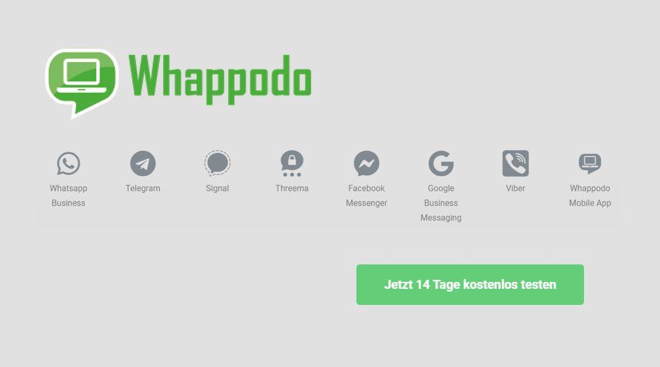 Whappodo.COM – Alle Messenger in einem Tool [Werbung]