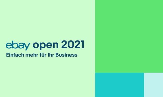 eBay Deutschland lädt zur eBay Open 2021