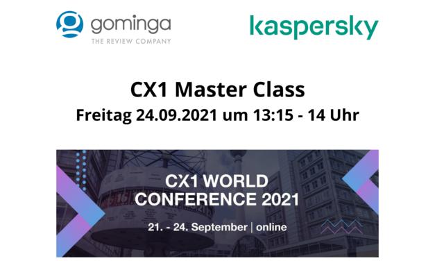 Wie Kaspersky mithilfe von gominga Customer Experience Management auf Online-Plattformen professionalisiert