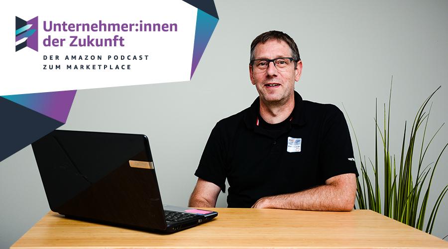 Hans-Peter Trefzer von INTERSPORT Haindl im #UdZ Podcast zum Amazon Marketplace