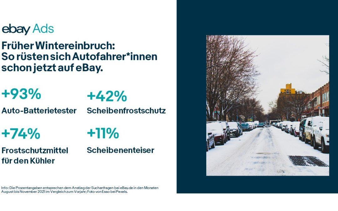 Frostschutz ist gefragt: Autofahrer*innen in Deutschland erwarten frühen Wintereinbruch