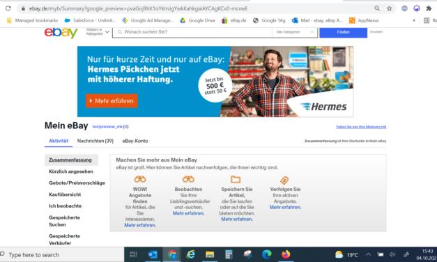 Hermes startet mit eBay Ads gezielte Awareness-Kampagne für exklusives Versandangebot bei eBay.de